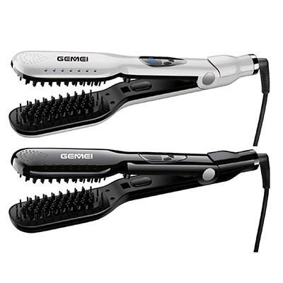 Расческа выпрямитель для волос Gemei GM-418