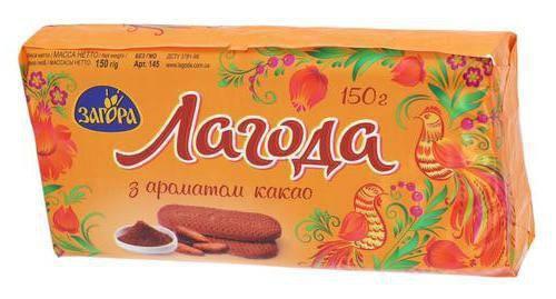 """Печенье """"Лагода"""" какао 150 г, фото 2"""