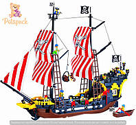 Конструктор Brick-308 Пиратский корабль Черная Жемчужина 870 деталей
