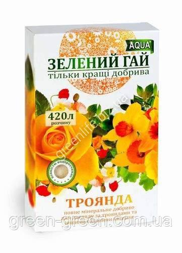 Удобрение Зеленый гай Aqua для роз
