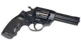 Револьвер под патрон флобера Safari РФ 441М с пластиковой рукояткой