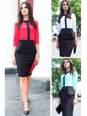 Офисное платье опт 199, розн 260, фото 2