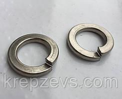 Шайба пружинна Ф3.5 DIN 7980 із сталі А2