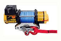 Лебедка электрическая для квадроциклов и ATV T-MAX ATWPRO-4500 (синтетический трос)