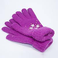 Перчатки женские двойные норма 7-8