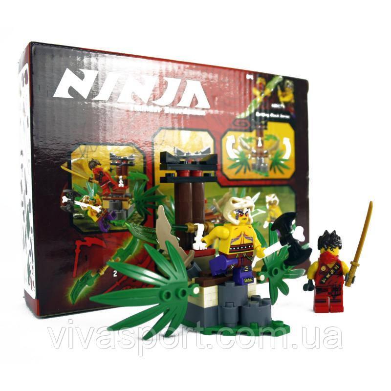 Детский конструктор Lego Ninjago ''Ловушка в джунглях'' (Лего Ниндзяго)