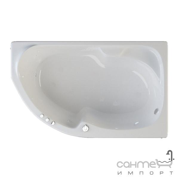 Ванны Riva Pool Угловая акриловая ванна Riva Pool Nabucco правая, белая