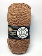 Madame Tricote Merino Gold 200 № 046 темный беж
