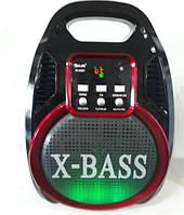 Акустическая система GOLON RX-820 BT Колонка-комбоусилитель  Bluetooth + MP3, радиомикрофон, пульт, cветомузык