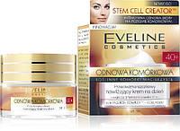 Eveline Cosmetics 50 мл клеточного обновления: УВЛАЖНЯЮЩИЙ ДНЕВНОЙ КРЕМ ПРОТИВ МОРЩИН 40+