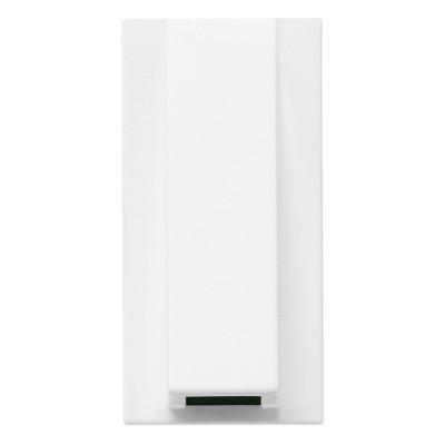 Висновок кабельний 1 модуль ABB Zenit Білий N2107 BL
