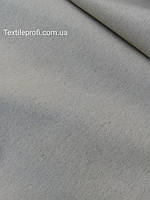 Льняная плотная умягченная ткань серого цвета