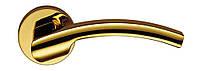 Ручка дверная на розетке Colombo Olly LC 61 полированная латунь (Италия)