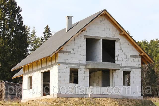 Перед тем как строить из пеноблоков, надо сделать хороший проект