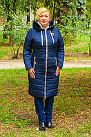 Женское зимнее пальто большого размера, фото 1