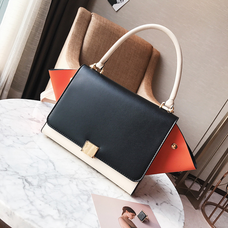 6bb1cd29ad74 Модная вместительная сумка в стиле Celine Trapeze черного цвета - ON store  в Львове