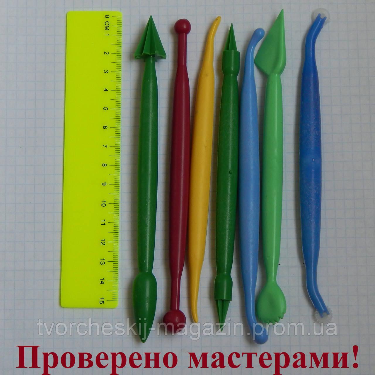 Набор инструментов пластик 7 шт