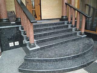 Гранітні сходи фото 29