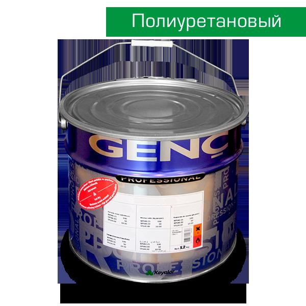 Полиуретановая краска полуглянцевая BP580 GL.50 (белая 1000). 12 кг
