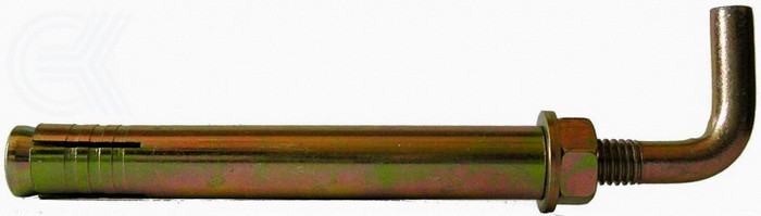 Анкер распорный 10х80 с L-крюком (прямым)