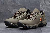 Мужские зимние ботинки Timberland (Тимберленд) код 3568 оливковка