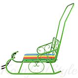 Санки «Смерека» цветные планки, фото 2