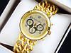 Кварцевые наручные часы Michael Kors золото, браслет в виде двух цепочек