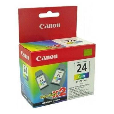 Чернильница Canon BCI-24 цв. (twin pack) iP1000/ 1500/ 2000, MP110, i250/ i350, фото 2