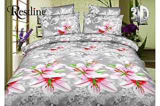Модное постельное белье 3D ТЕП  RestLine «Марлен»