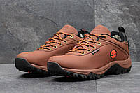 Мужские зимние ботинки Timberland (Тимберленд) код 3566 коричневые