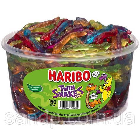 Желейные конфеты Змейки-Близнецы 1200гр. 150шт. , фото 2