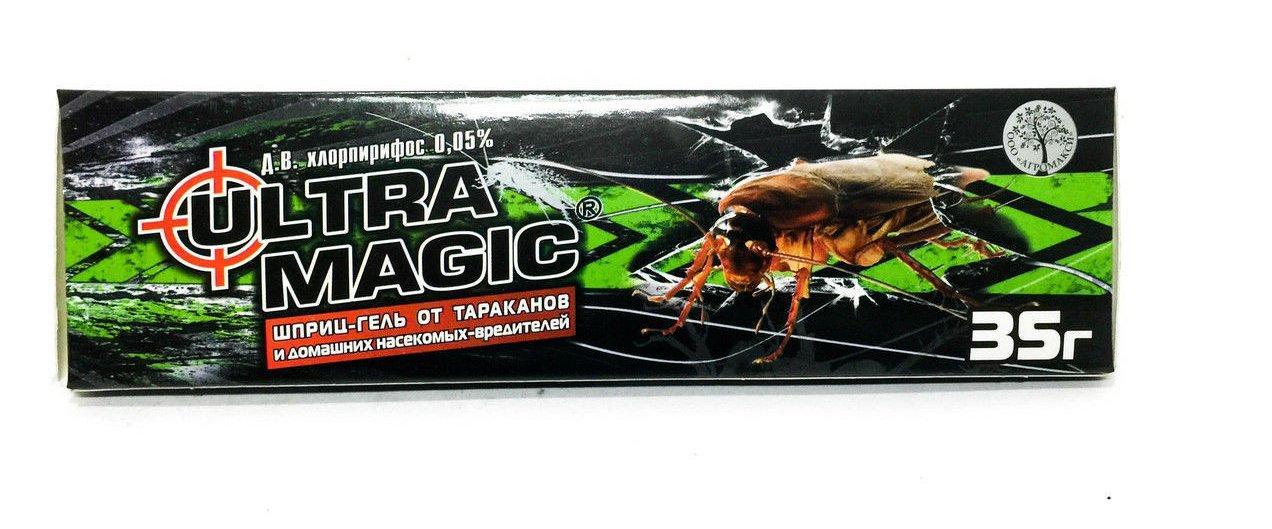 Ультра магик шприц-гель 35 г от тараканов (лучшая цена купить оптом и в розницу)