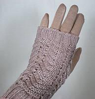 Модные женские перчатки с митенкой