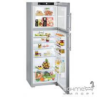 Холодильники и морозильные камеры Liebherr Двухкамерный холодильник с верхней морозилкой Liebherr CTPesf 3316 Comfort (А++) серебристый