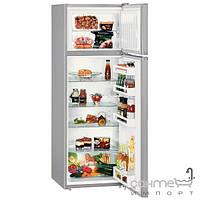Холодильники и морозильные камеры Liebherr Двухкамерный холодильник с верхней морозилкой Liebherr CTPsl 2921 Comfort (А++) серебристый