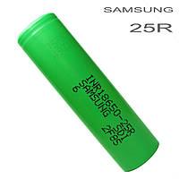 Аккумулятор  SAMSUNG-25R 18650 / 2500mah (до30А)
