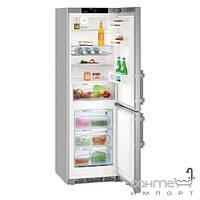 Холодильники и морозильные камеры Liebherr Двухкамерный холодильник с нижней морозилкой Liebherr CNef 4315 Comfort NoFrost (А+++) серебристый