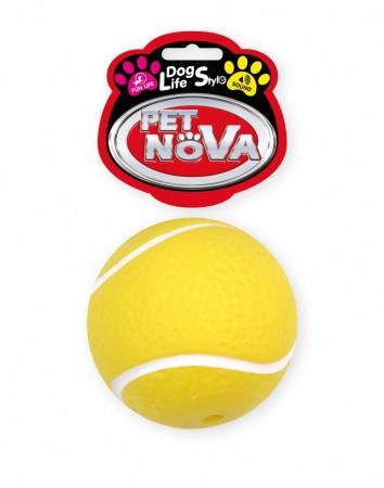 Іграшка для собак М'яч тенісний Pet Nova 7 см