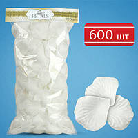 Лепестки роз (белые) 600 шт