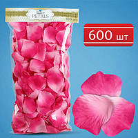 Лепестки роз (фиолетово-розовые) 600 шт