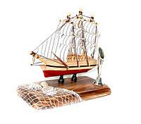 Подставка для ручки «Кораблик и сеть»