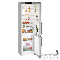 Холодильники и морозильные камеры Liebherr Двухкамерный холодильник с нижней морозилкой Liebherr CUef 4015 Comfort (А++) серебристый