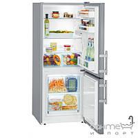 Холодильники и морозильные камеры Liebherr Двухкамерный холодильник с нижней морозилкой Liebherr CUsl 2311 Comfort (А++) серебристый