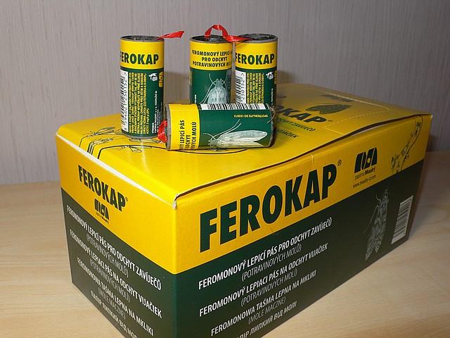 Ferokap липучка от моли (лучшая цена оптом и в розницу)