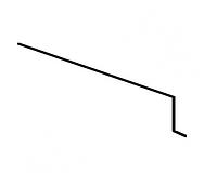 Карнизная планка Акваизол КП-1 (красная)