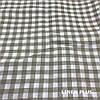 Лляна тканина в клітку 100% льон колір 1/33, фото 2