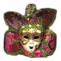 Маска венецианского карнавала декоративная
