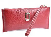 Женская кожаная косметичка 1208 Red Wine косметички женские продажа оптом Одесса 7 км