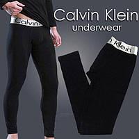 Хлопковые подштанники(кальсоны) ТМ Calvin Klein. Цвет: черный. Артикул: TB01