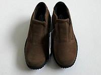 Обувь женская замшевая